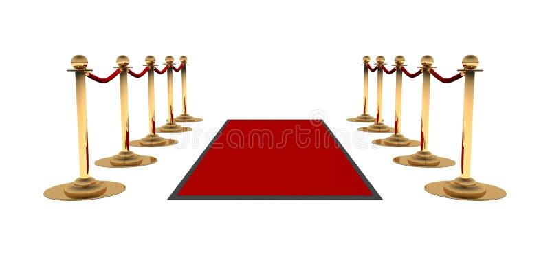 Download Carpet красный цвет иллюстрация штока. иллюстрации насчитывающей nightlife - 6860323