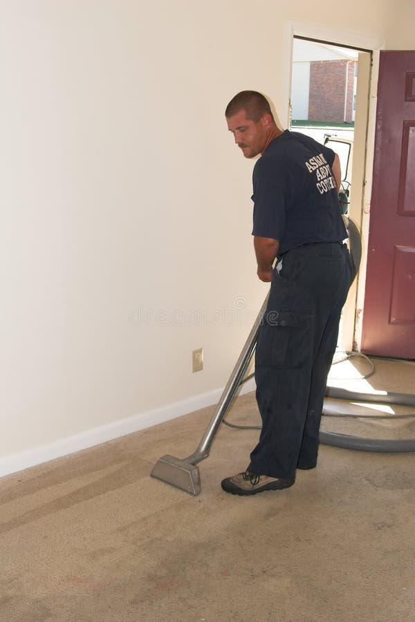 carpet cleaning arkivbilder