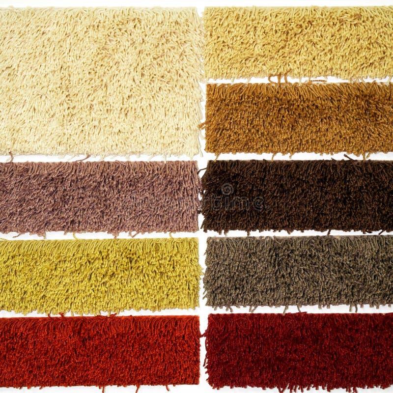 carpet märkduken royaltyfri bild