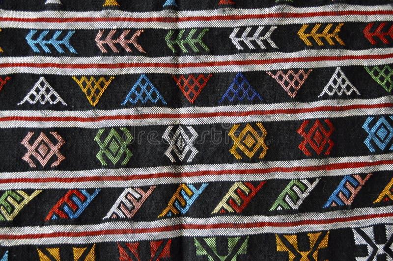 Carpet In Morocco Royalty Free Stock Photos