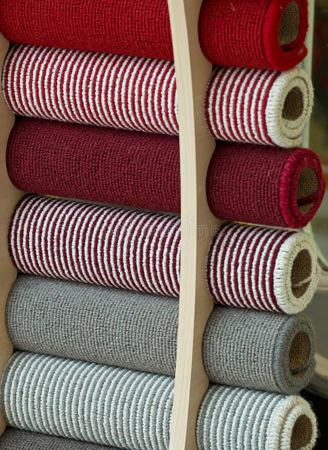 Carpet samples royalty free stock photo