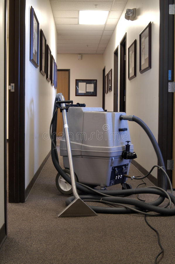 Download Carpet Shampooer stock image. Image of machine, cord, office - 646869