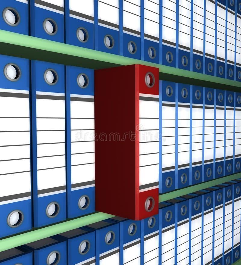 Carpeta del archivo imagen de archivo libre de regalías