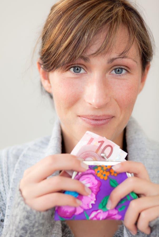 Carpeta del bolsillo del dinero fotos de archivo libres de regalías