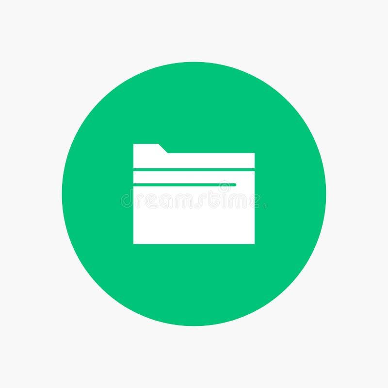 Carpeta, fichero, datos, almacenamiento libre illustration