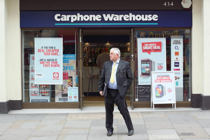 Carphone Warehouse images stock