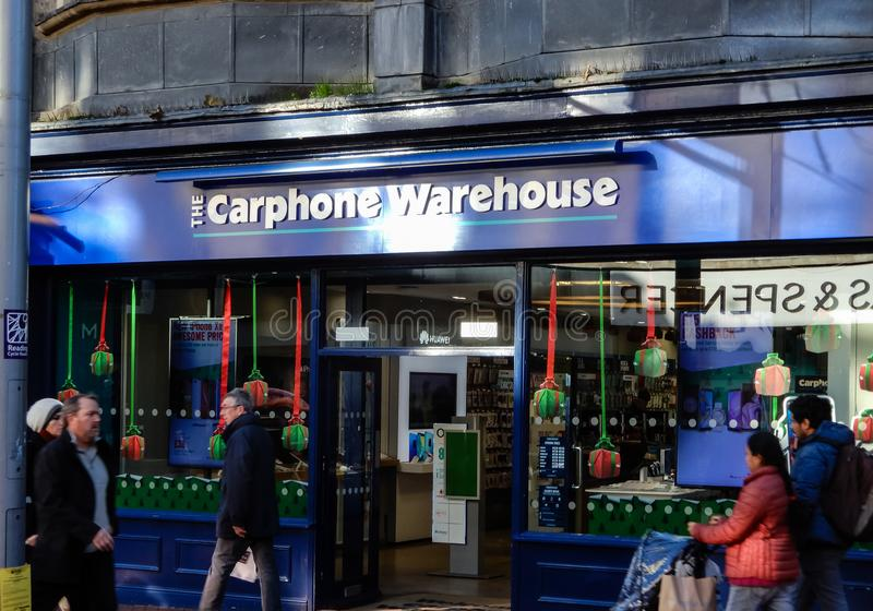 Carphone Warehouse store editorial photo  Image of carphone