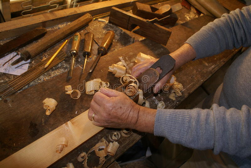 Carpinteiro imagem de stock
