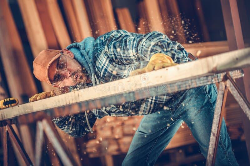 Carpintero Woodwork Craftsman foto de archivo