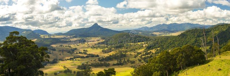 Carr's punkt obserwacyjny w Scenicznym obręczu, Queensland obrazy royalty free