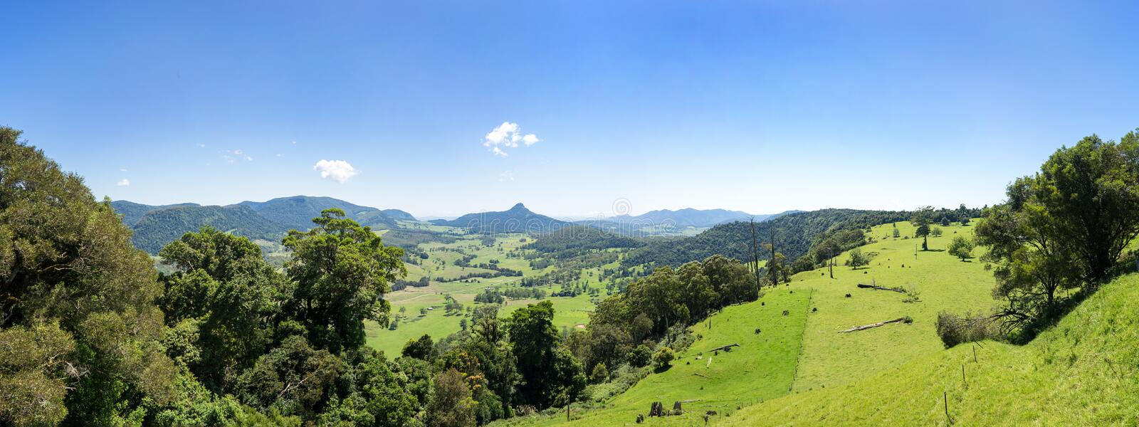Carr`s Scenic View Lookout Queensland Australia stock photography