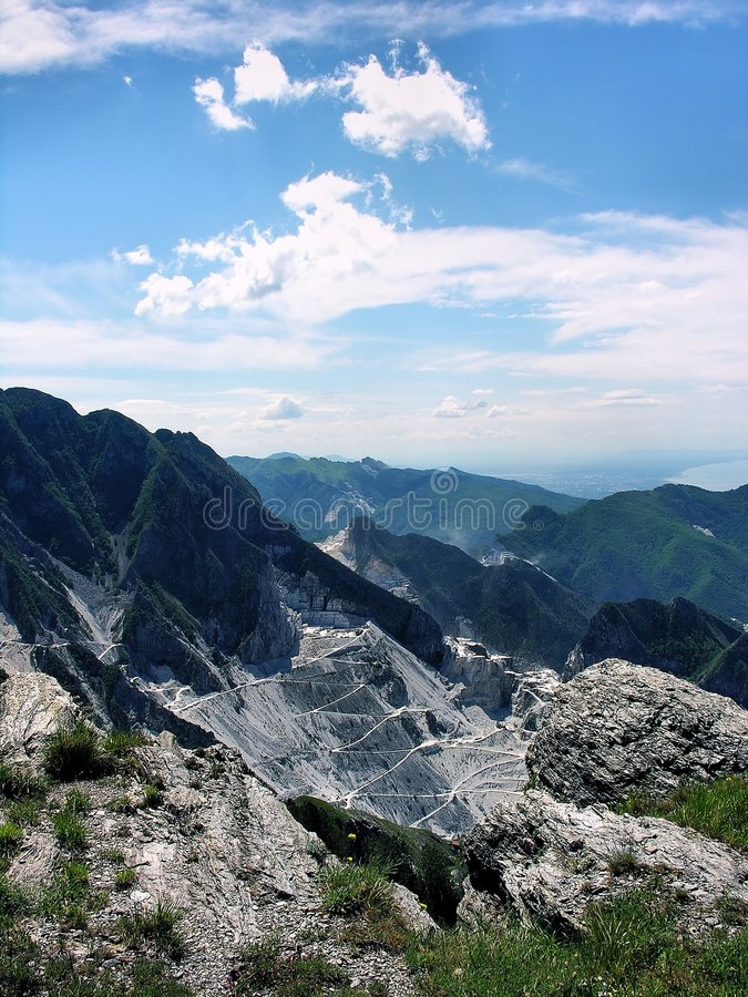 Download Carrara Marble Mine Stock Photography - Image: 5527272