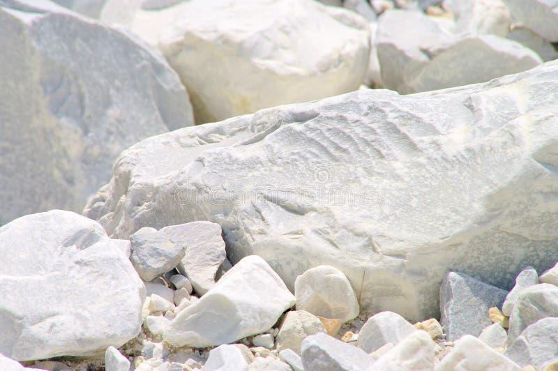 Carrara-Marmorsteingrube lizenzfreies stockfoto
