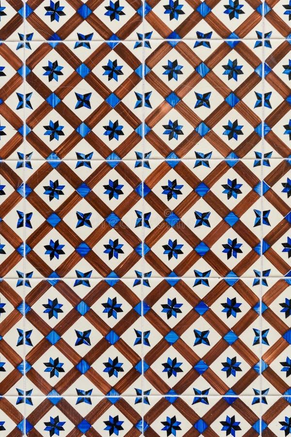 Carreau de céramique dans la rue de Lisbonne illustration libre de droits