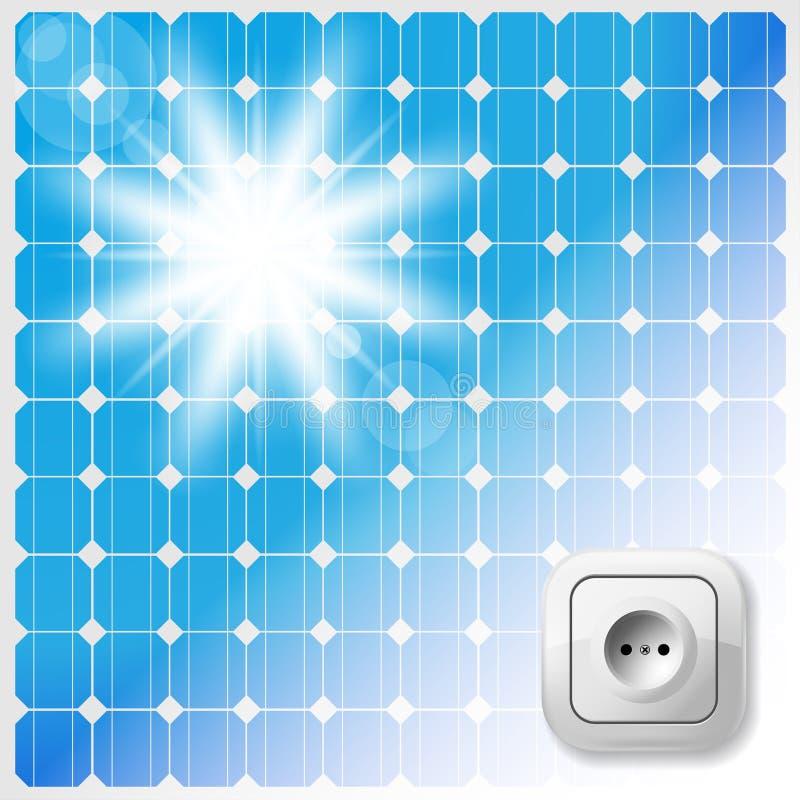 Carreau solaire illustration libre de droits