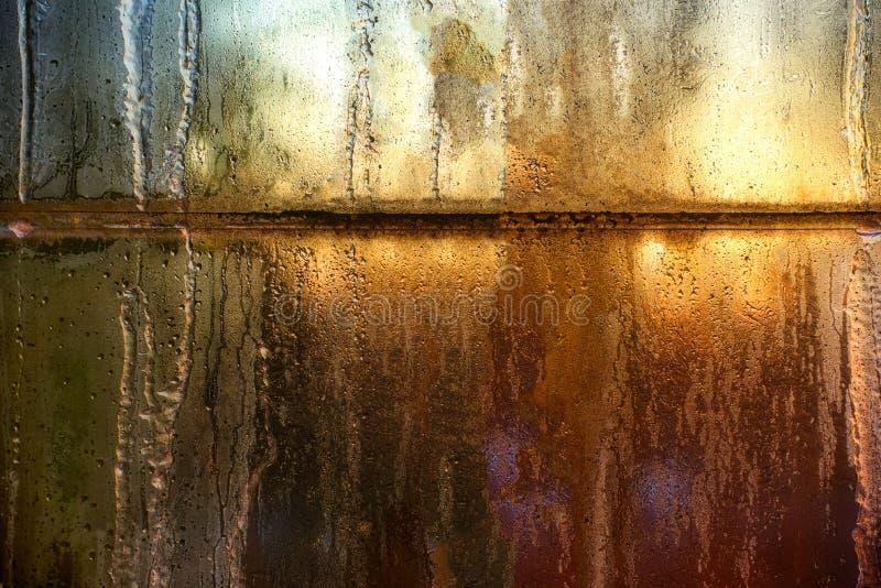 Carreaux d'hublot givrés photo libre de droits