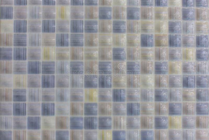 Carreaux de céramique à l'arrière-plan de texture de modèle de piscine ou de salle de bains image libre de droits