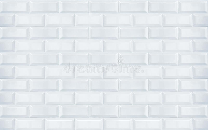 Carreaux de céramique blancs image stock
