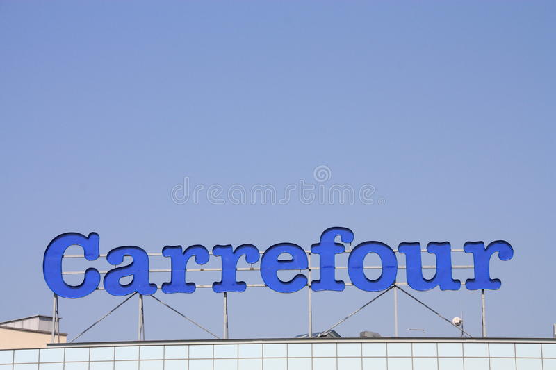 Download Carrefour editorial stock image. Image of accessories - 20900754