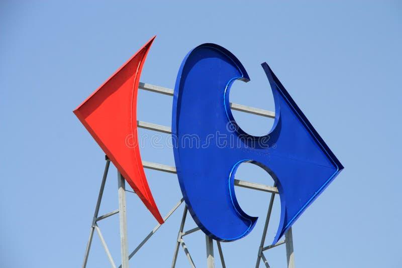 Carrefour stockfotos