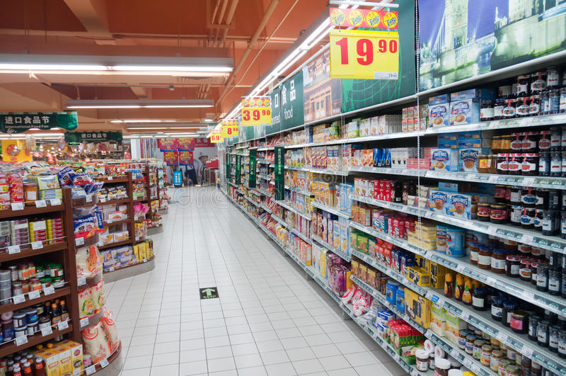 Download Carrefour in China editorial photography. Image of zhuhai - 22035767