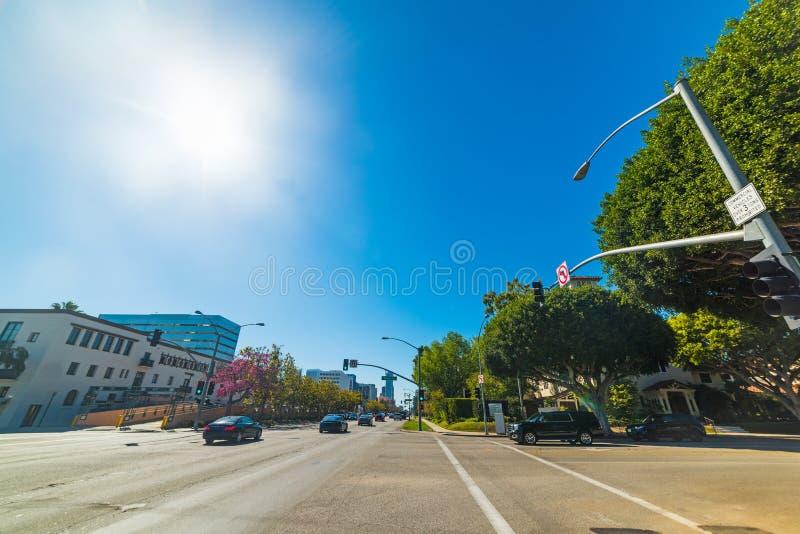 Carrefour dans Rodeo Drive photos stock