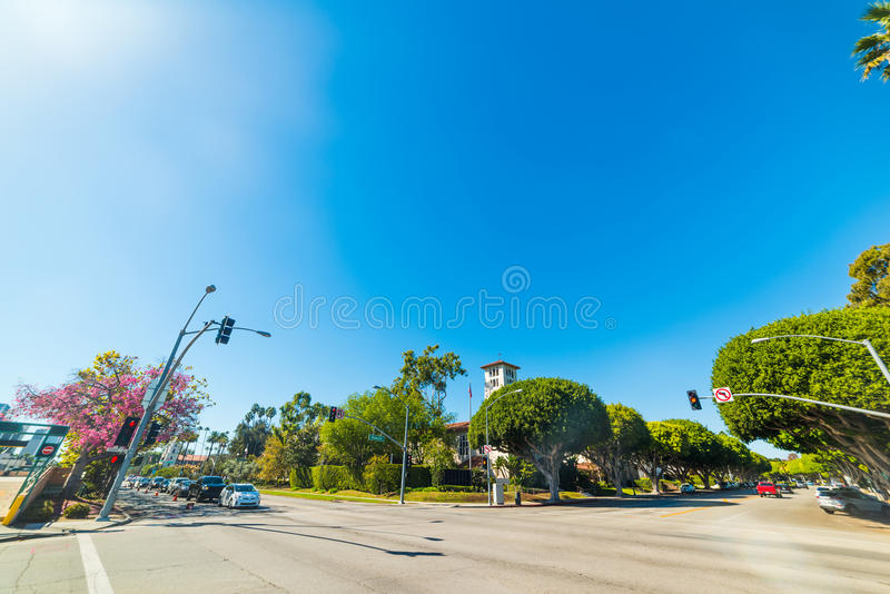 Carrefour dans Rodeo Drive image stock