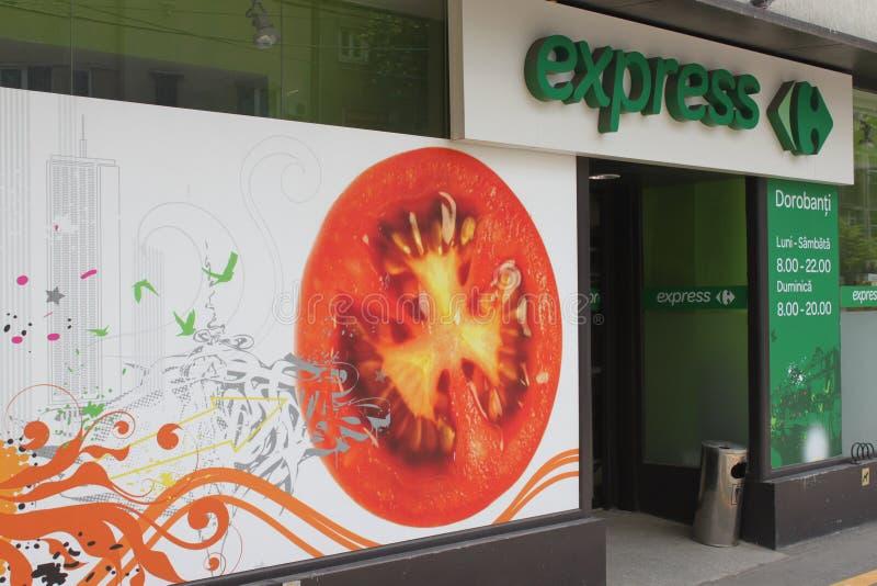 Carrefour Exprès Photo éditorial
