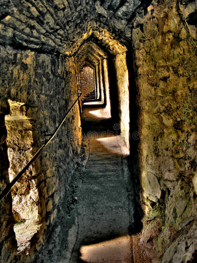 carreg το κάστρο το πέρασμα στοκ φωτογραφία με δικαίωμα ελεύθερης χρήσης