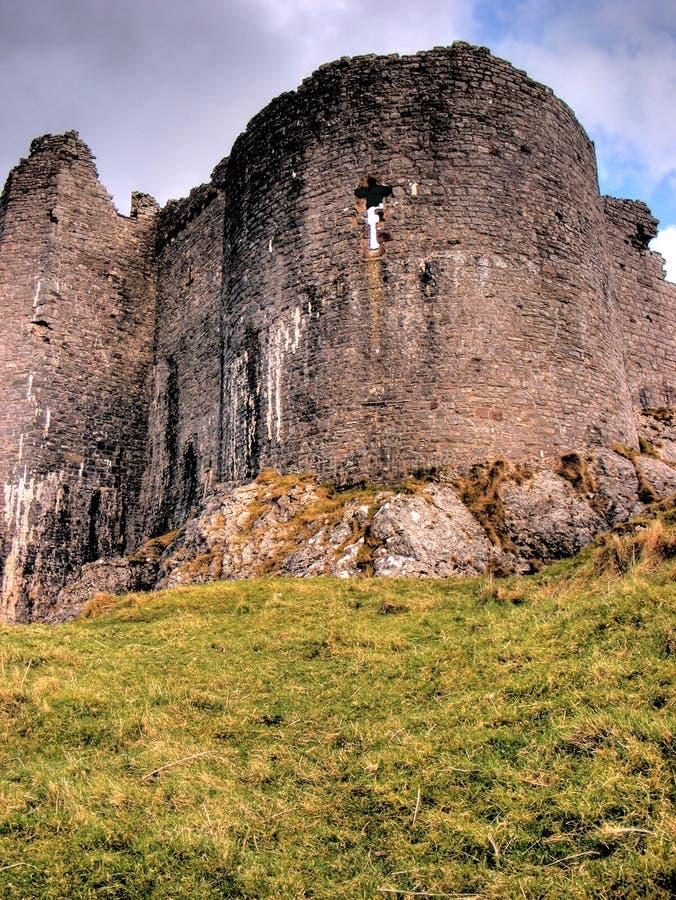 Carreg Cennen Castle_02 royalty-vrije stock afbeeldingen