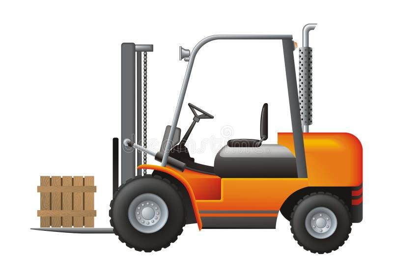 Carregador ilustração stock