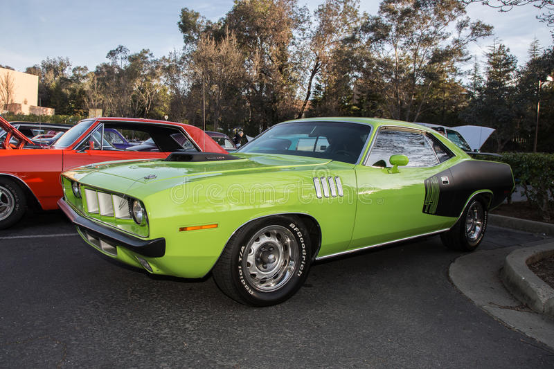 Carregador Hemi de Dodge imagens de stock royalty free
