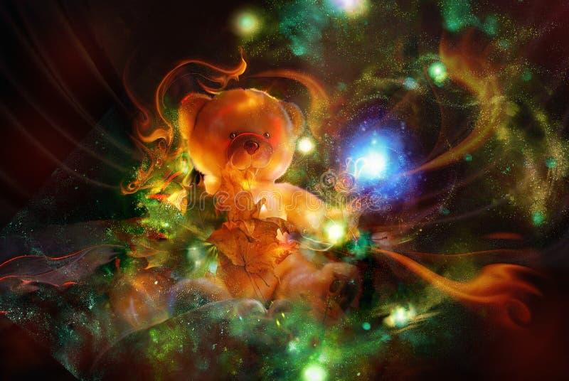 Carregar-filhote de um fairy-tale ilustração stock