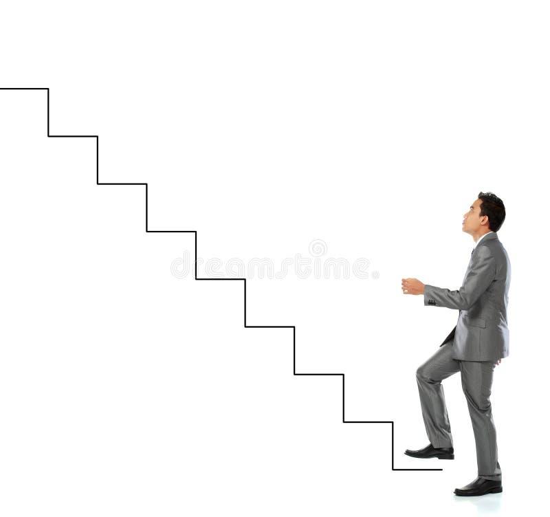 Carreira do sucesso imagens de stock