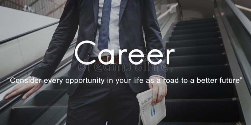 Carreira que contrata recursos humanos Job Occupation Concept imagens de stock royalty free