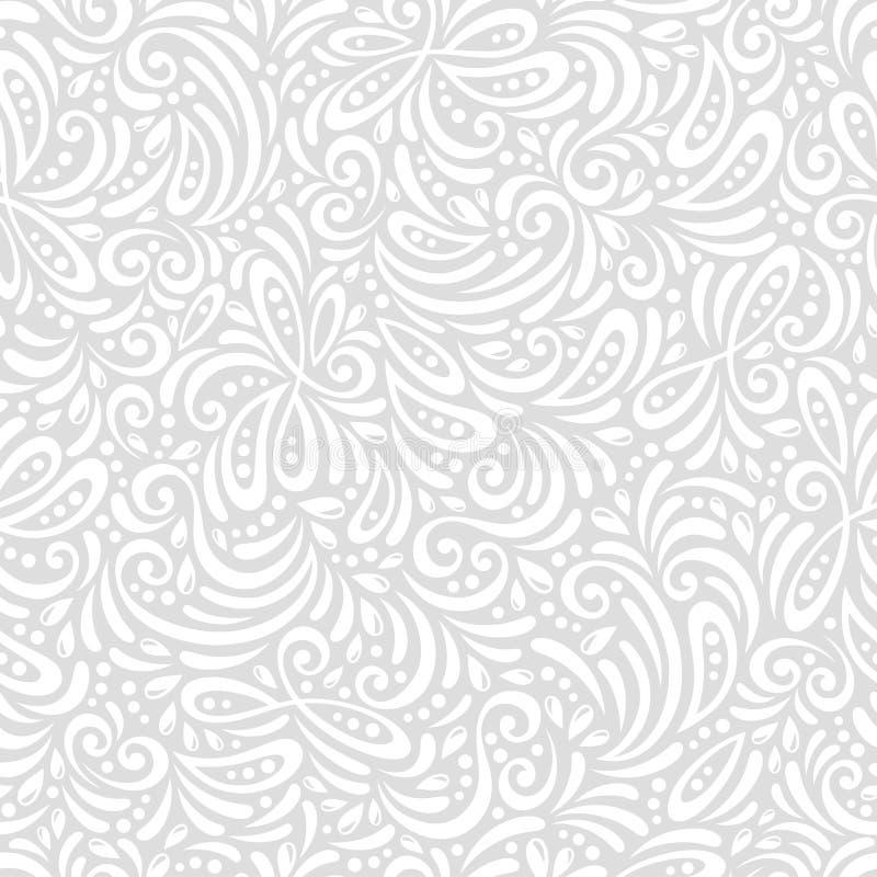 Carrelage sans couture de modèles de vecteur chic illustration stock