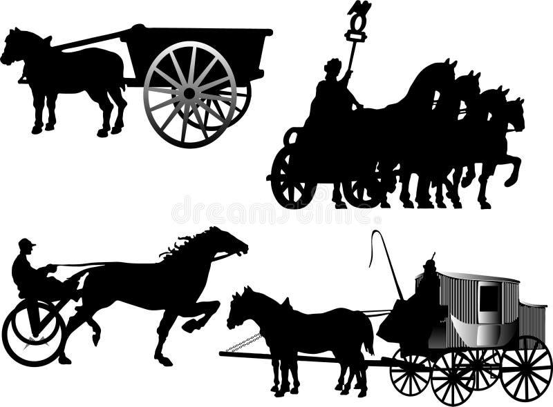 Carrello illustrazione di stock