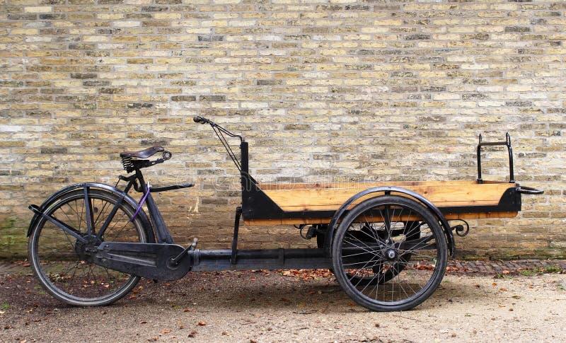 Carrello della bicicletta fotografia stock libera da diritti