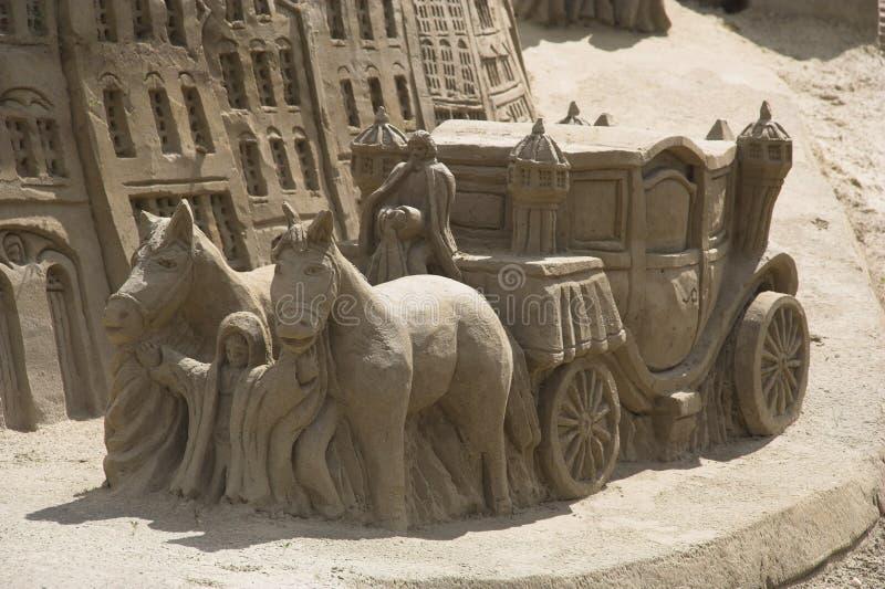 Download Carrello della sabbia immagine stock. Immagine di strada - 220913