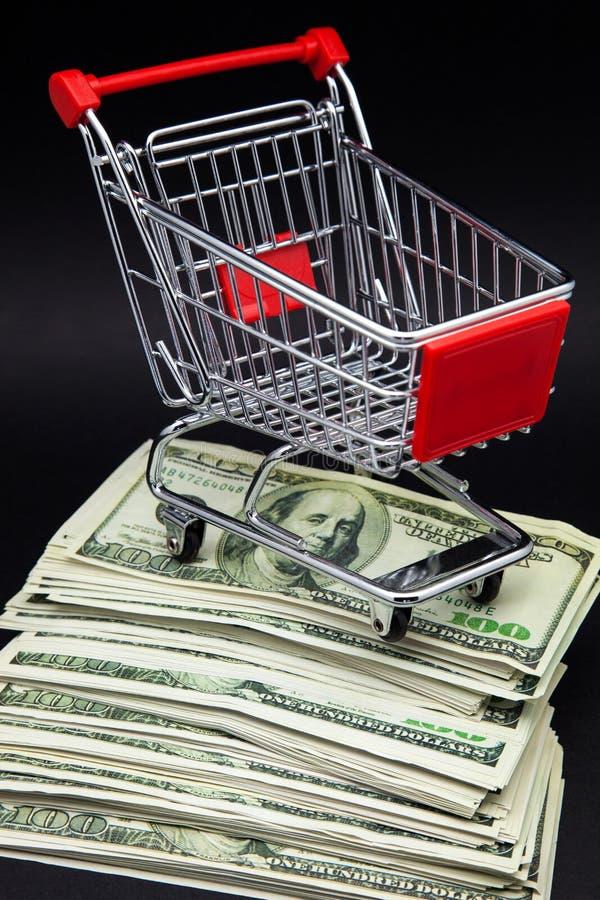 Carrello di acquisto immagine stock libera da diritti