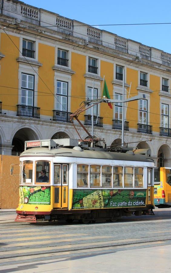 Carrello di Lisbona fotografie stock libere da diritti