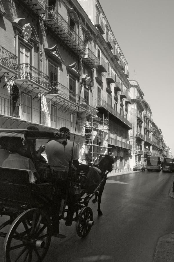 Carrello di Palermo fotografie stock