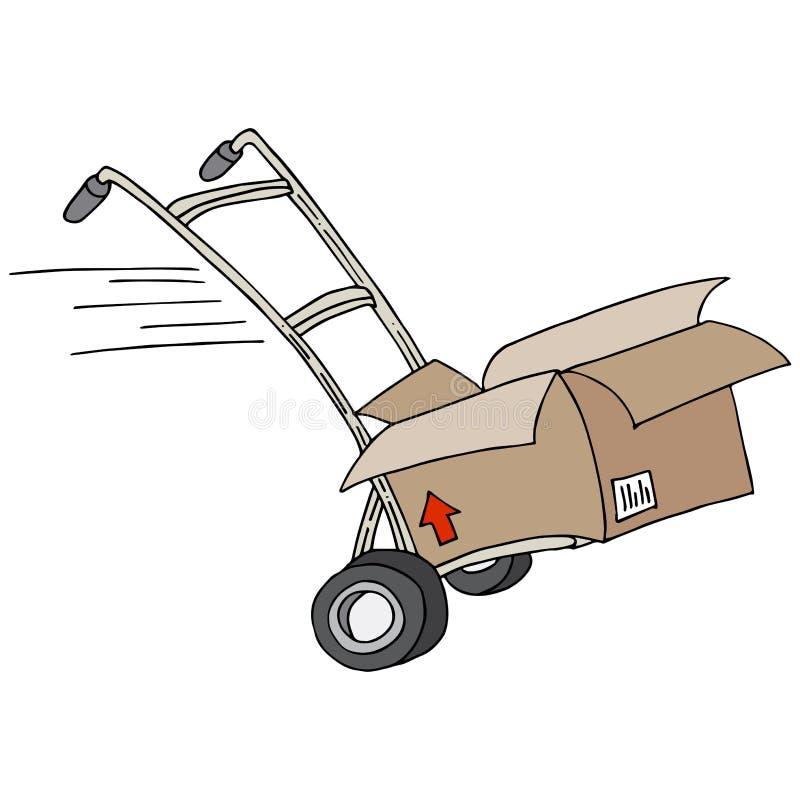 Carrello di trasporto royalty illustrazione gratis