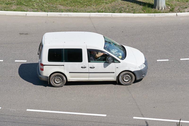 Carrello di Volkswagen fotografia stock libera da diritti