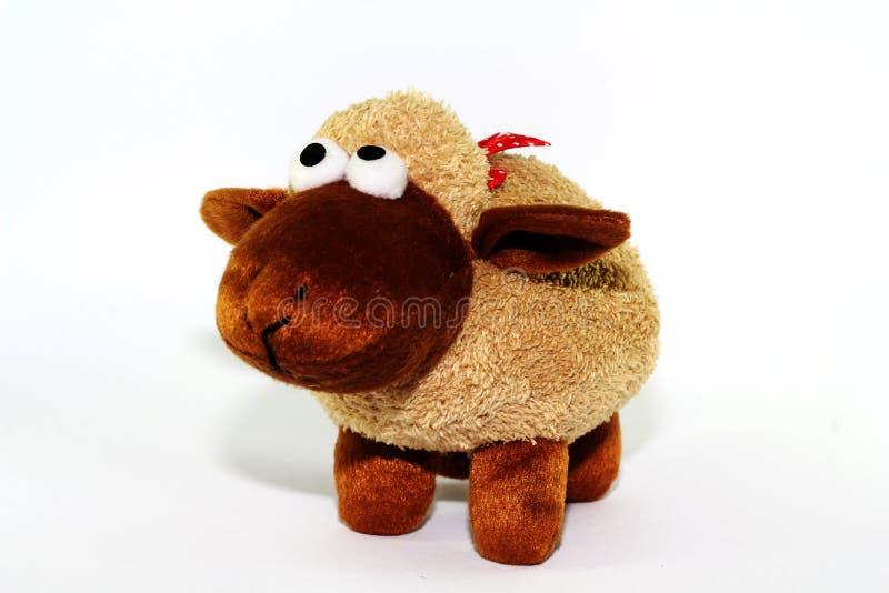 Carrello le pecore fotografia stock libera da diritti