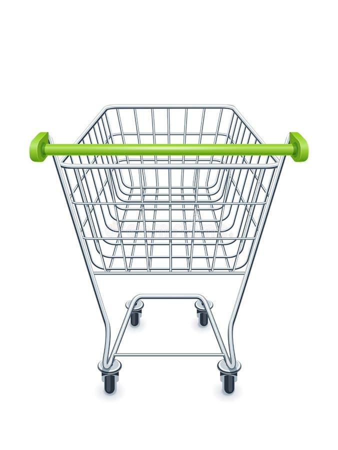 Carrello per i prodotti del supermercato royalty illustrazione gratis