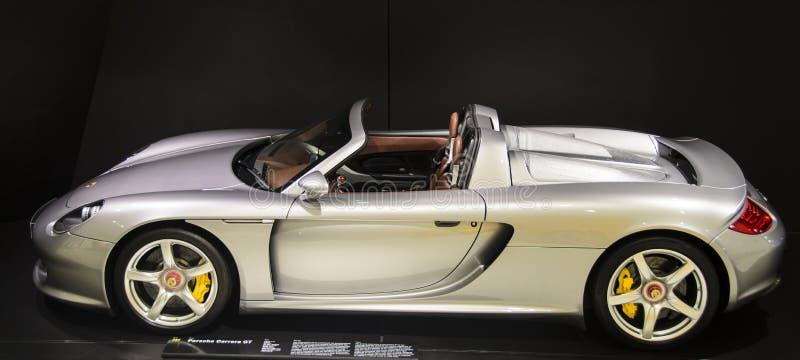 carrera gt Porsche fotografia royalty free