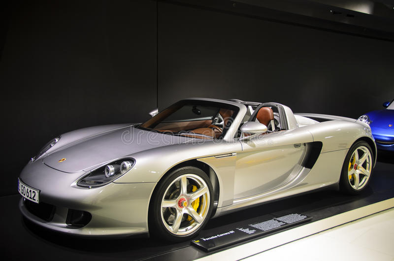 carrera gt Porsche zdjęcie stock