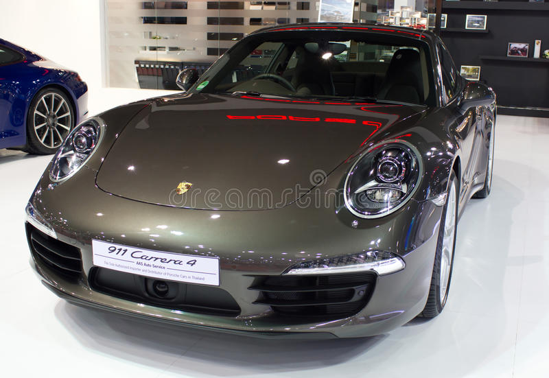 Carrera 4 porche car photo stock ditorial image du - Porche para autos ...