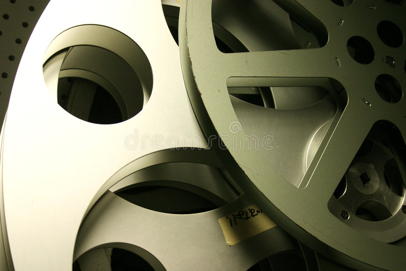 Carretéis de película velhos